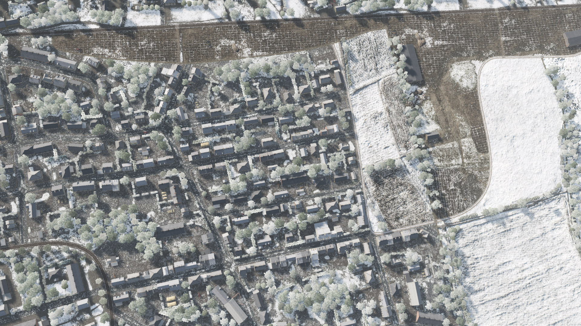 Mod Map Normandie en hiver 1