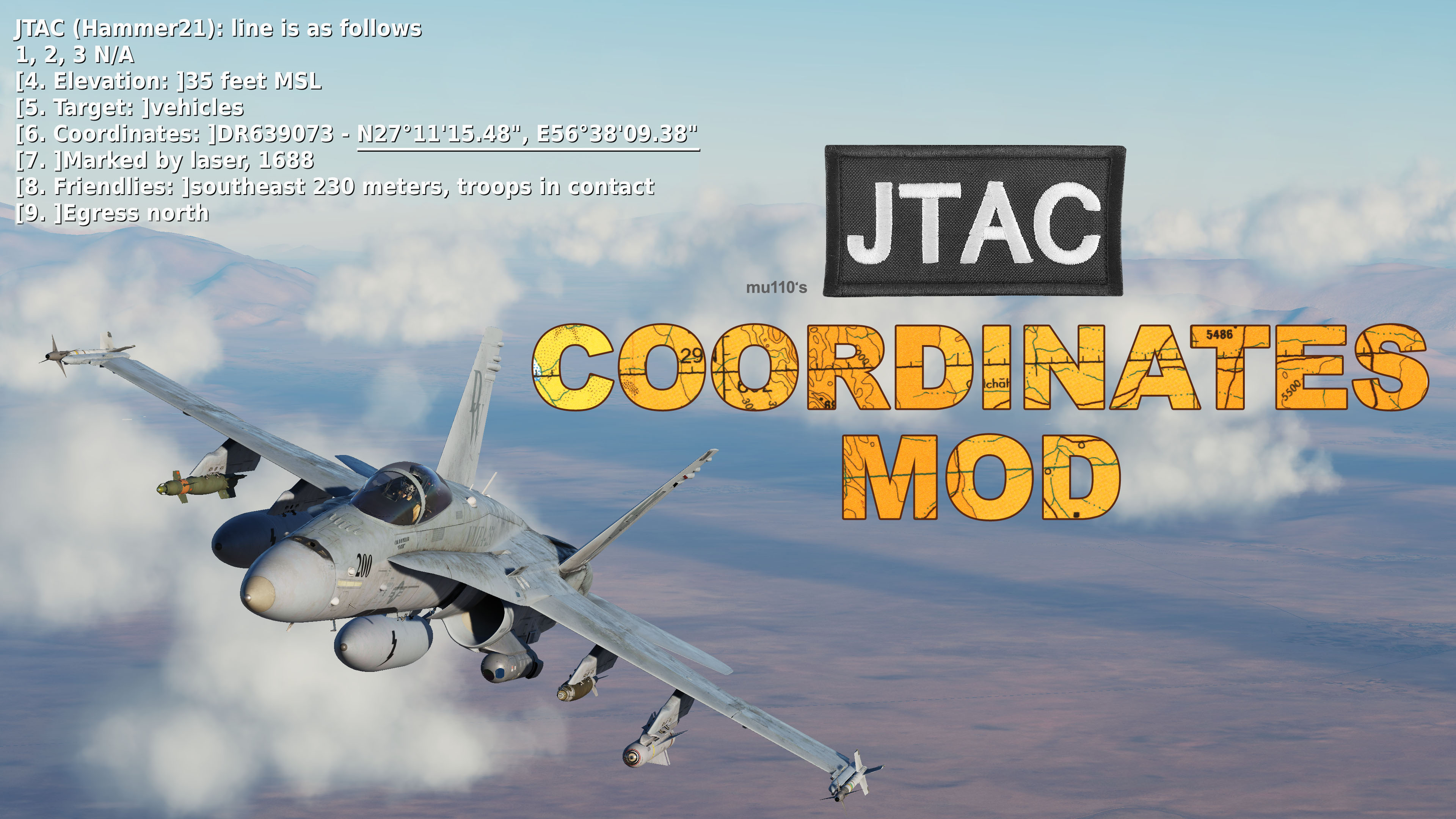 JTAC Coordinates in Lat/Long [UPDATED for 2.7.0]