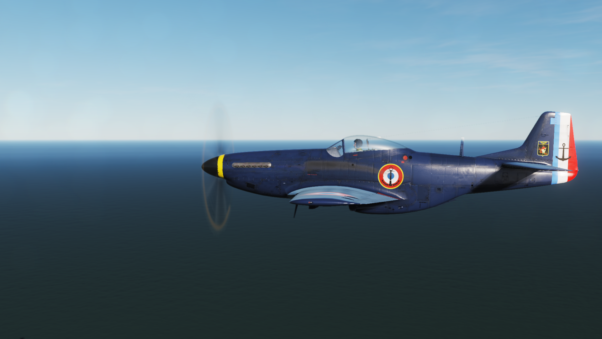 P51D French navy