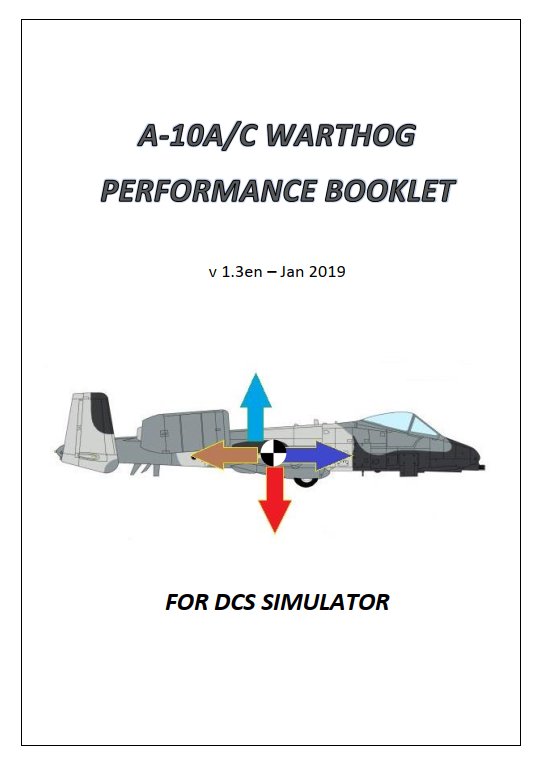 A-10 Performance Booklet v1.3en (Jan 19)