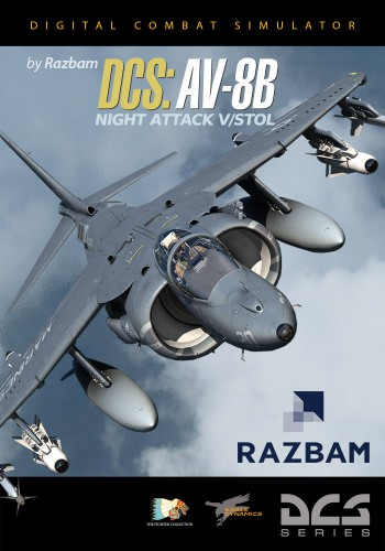 DCS: AV-8B Night Attack V/STOL от RAZBAM