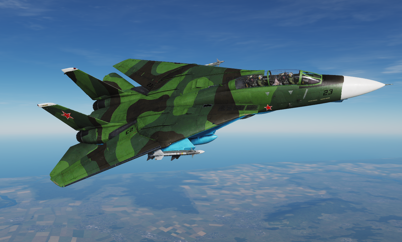 F-14 Redfor Livery (Soviet or Polish; Fictional)