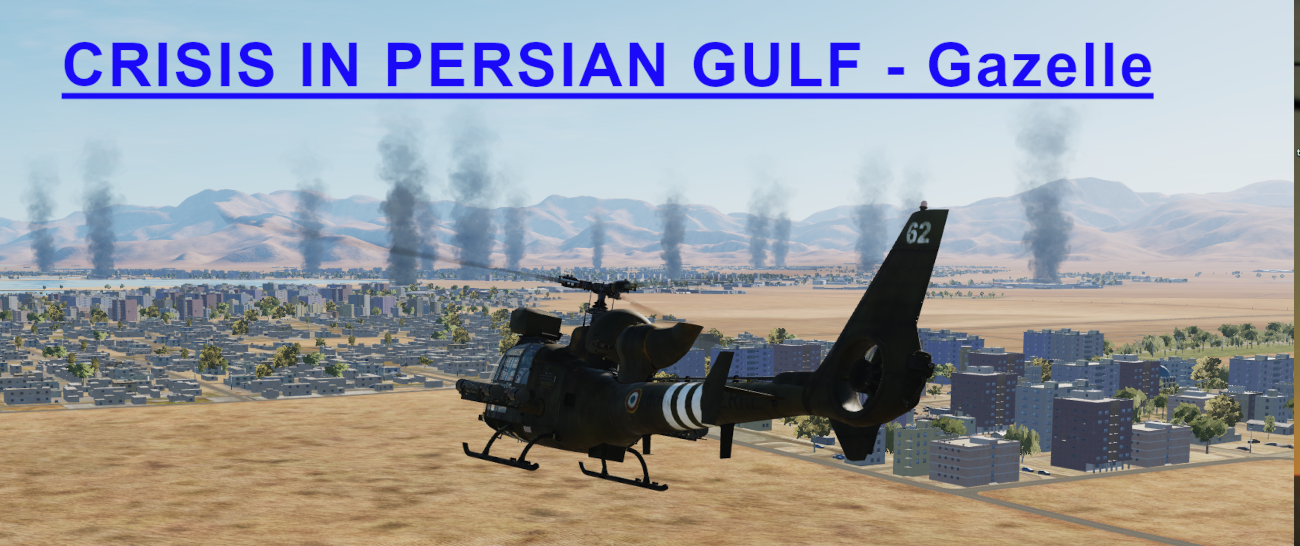 Crisis in Persian Gulf Gazelle Light version using Mbot Dynamic Campaign Engine