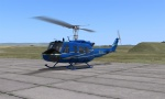 Bell UH-1H SE-HUJ (Blue Skid Version)