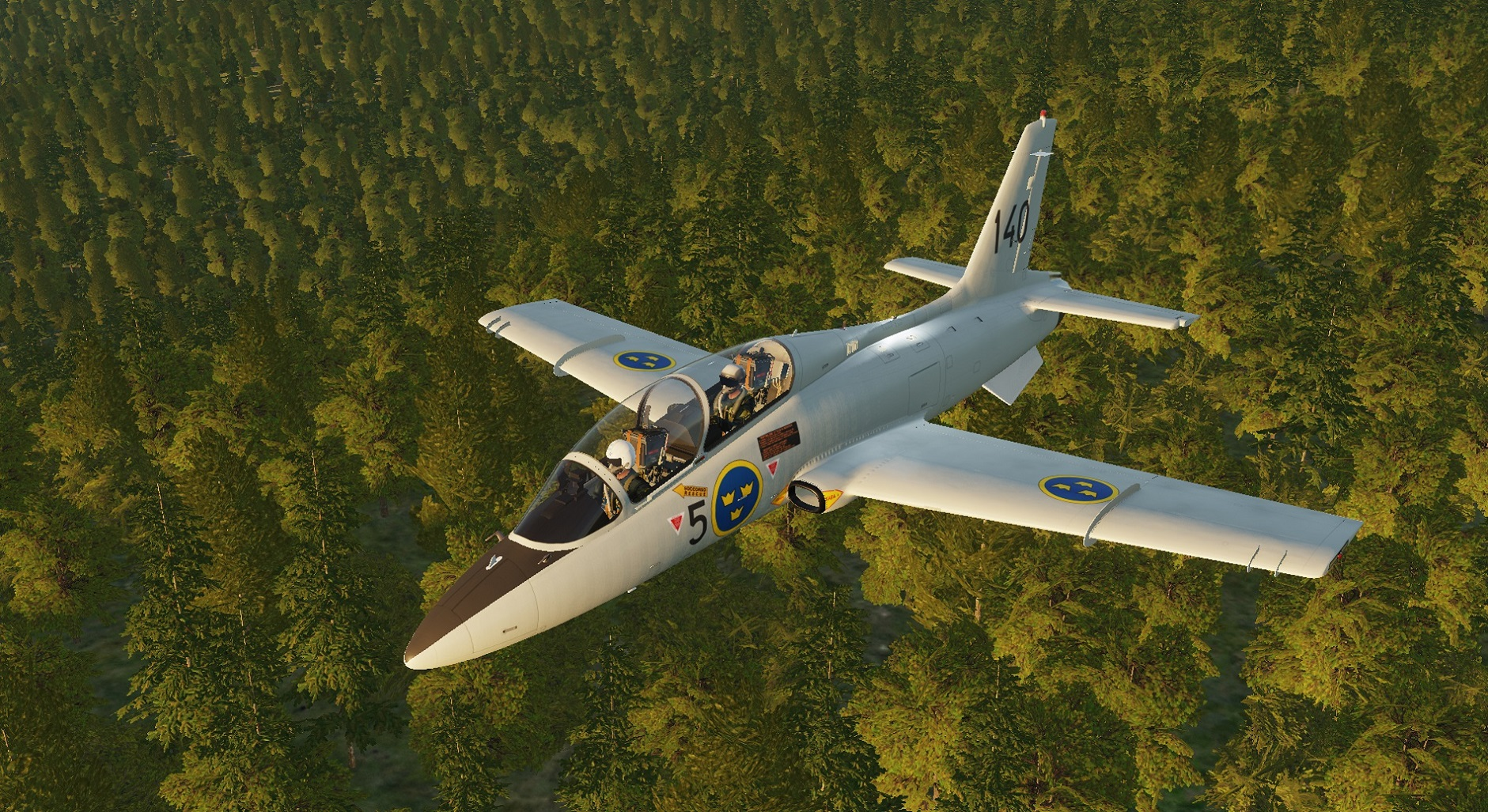 MB-339 Swedish Air Force Trainer