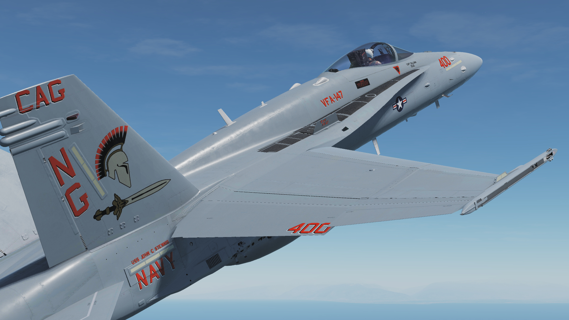 F/A-18C Lot20 VFA-147 Argonauts Pack V1.1