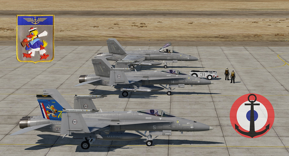 [Fictional ]F/A-18C Lot20 - French Navy - Flottille 12F - (little) UPDATE