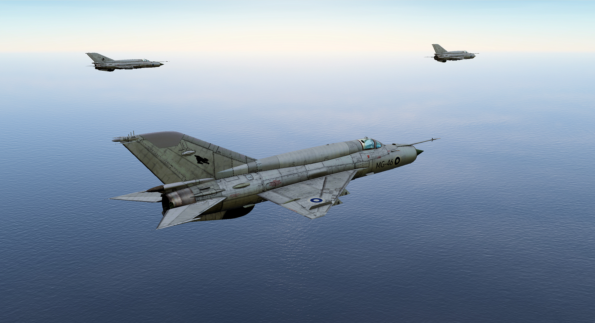 Finnish Air Force MiG-21 (Fictional-kind-of)
