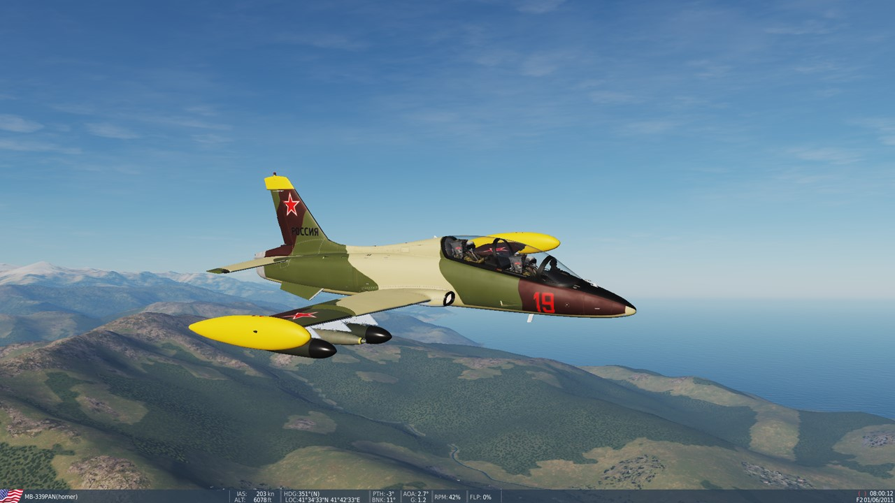 fictional Russian airforce MB-339PAN skin