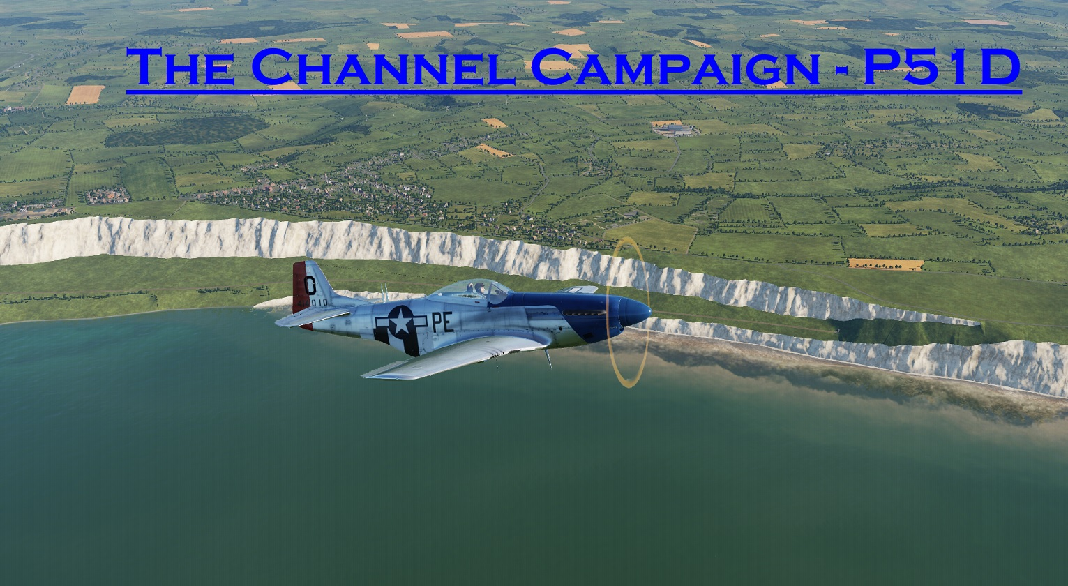 WWII The Channel P-51 using Mbot Dynamic Campaign Engine