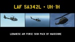 Lebanese Air Force Skin Pack