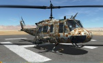 UH-1H Huey - No Markings - Octocamo Desert LV Coyote (Fictional)