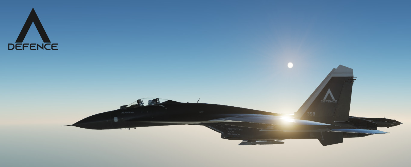 "Su-27 ""Lambda Defence"" Skin Pack (Fictional)"