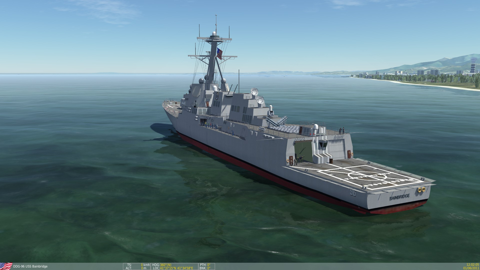 3 ship uss arleigh burke class