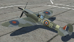 "Spitfire Mk.IX MA585, George ""Screwball"" Beurling"