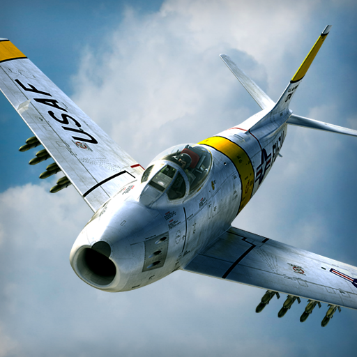 F86 Sabre / Mig15 Battle Royale / King of the hill similar - Dogfight and CAS Soft Targets