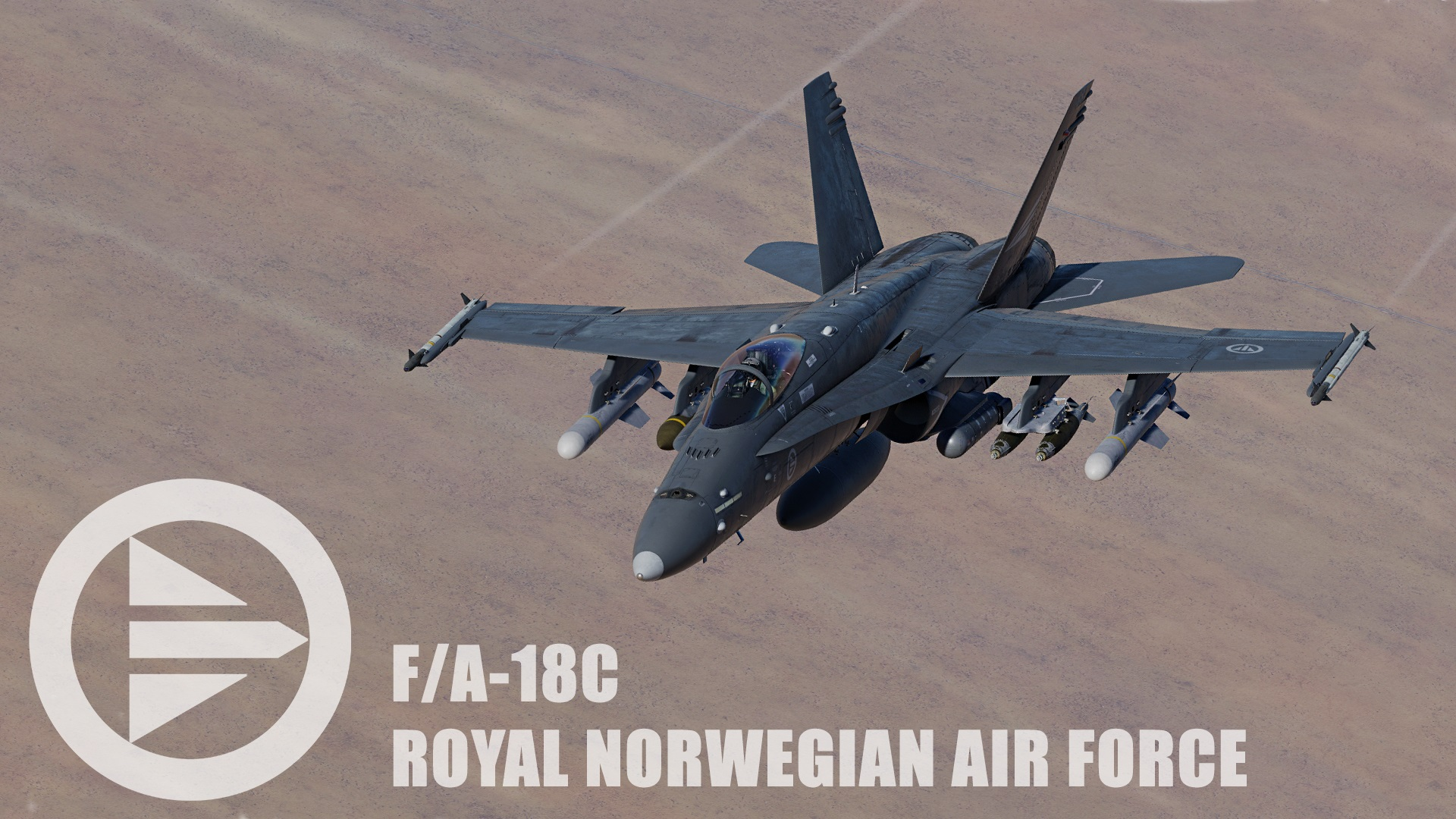 F/A-18C - Royal Norwegian Air Force - Low Visibility Liveries