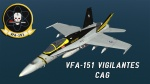 F/A-18C VFA-151 CAG