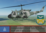 Independent State Allied Forces UH-1H - Ace Combat 4 (3 CAB)  *UPDATED*