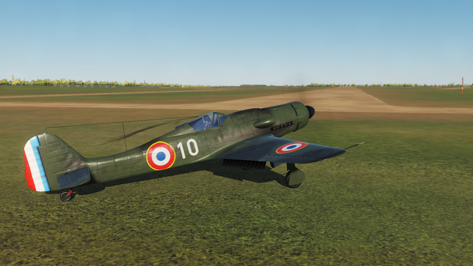 French FW-190 Captured