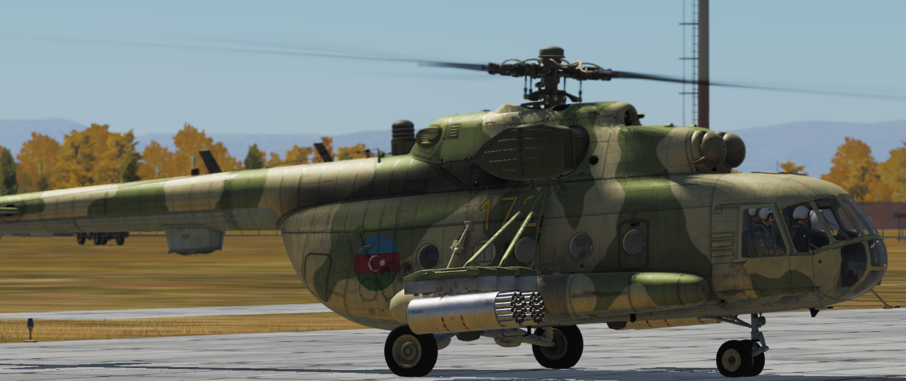 Azerbaijani Air Force MI-8