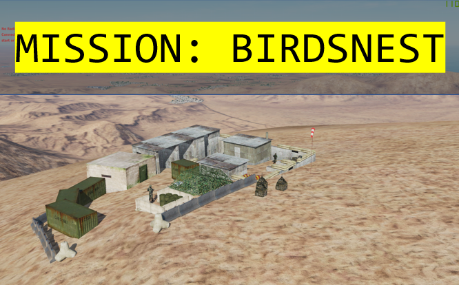 Mission Birdsnest: a coop mission for jets and helo's