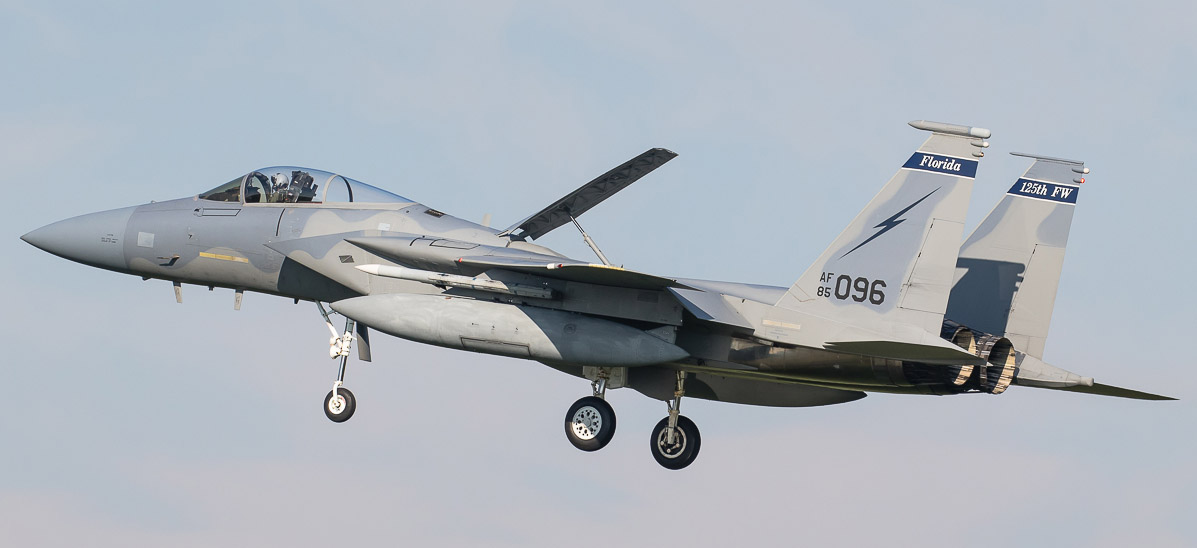 F-15C - 125th FW - National Guard Florida