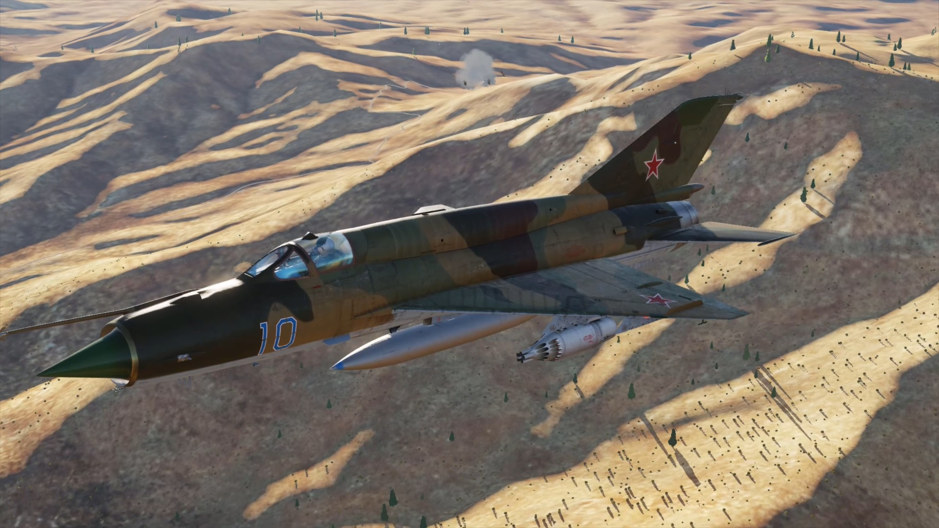 MiG-21 - Afghanistan - First Blood