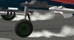Realistic ground smoke-dust