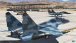 Fictional 64th Aggressor Sqn Mig29A 4x Skinpack Flanker-Blue
