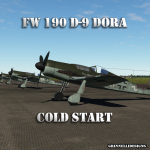 Fw 190 D-9 Dora Normandy Cold Start Tutorial