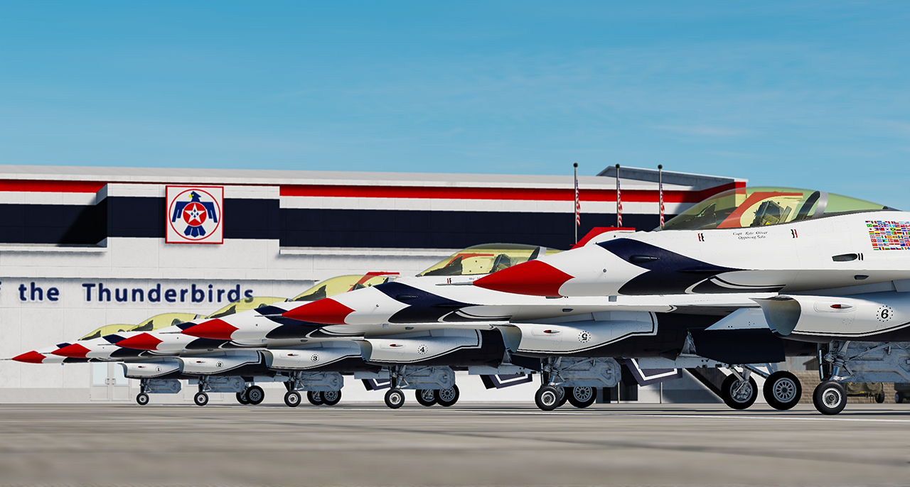 Thunderbirds 1-6 Set