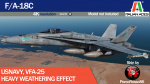 F/A-18C VFA-25 Heavy Weathering