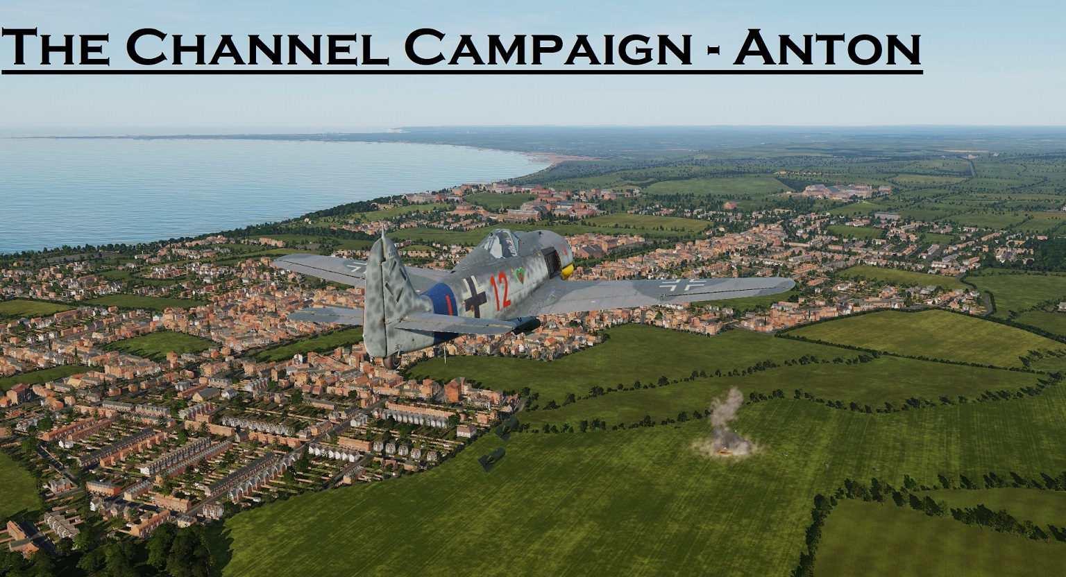 WWII The Channel FW190-A8 using Mbot Dynamic Campaign Engine