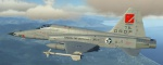 Ace Combat 5 North Osea Gründer Industries F-5E-3 Tiger II Skin