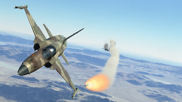F-5E Aggressors Air Combat Maneuver Campaign