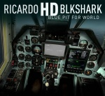 DCS: Black Shark 2 Ricardo's HD Blue Cockpit