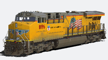 Union-Pacific-ES44AH