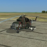 Mi-8MTV2 Rescue and destroy mission
