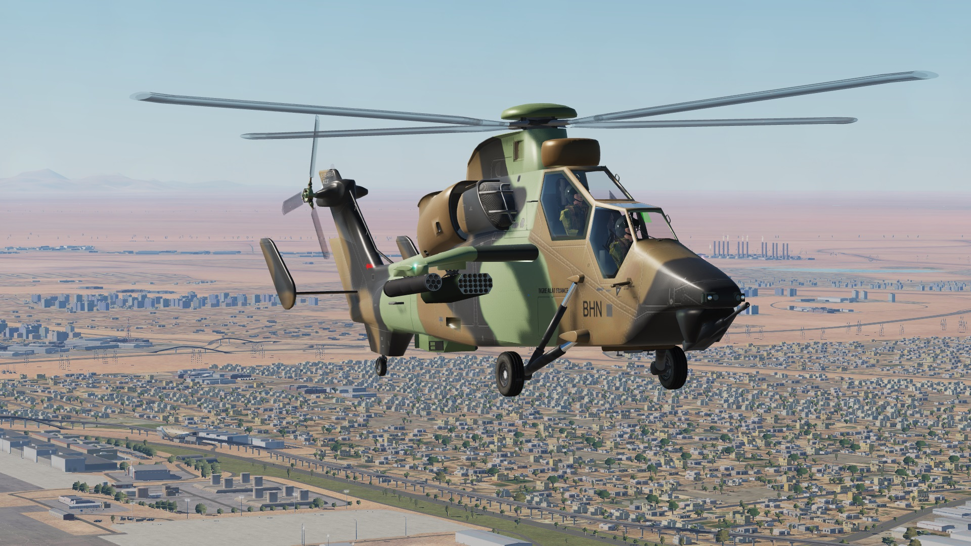 MOD EUROCOPTER EC665 TIGER type Ka-50 for all 2.5.6.52437 by the Cuesta Brothers