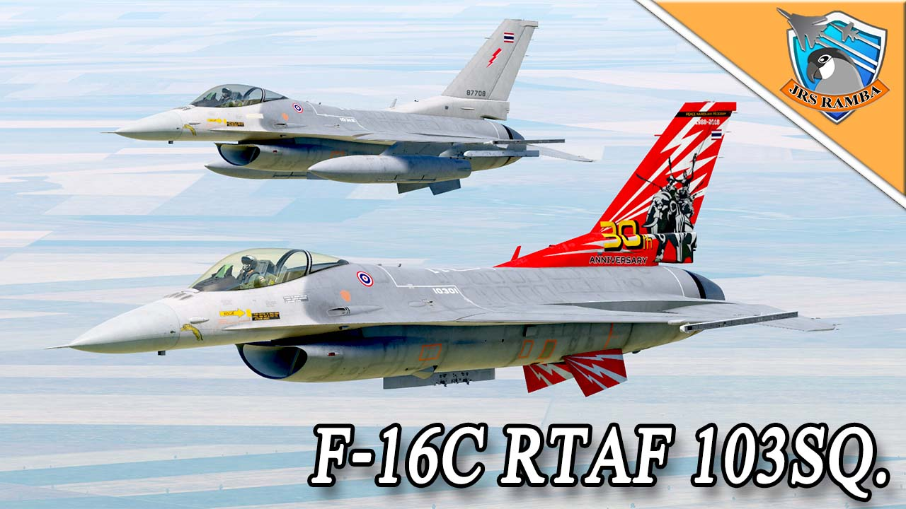 F-16C Royal Thai Air Force 103 SQ. And 30th