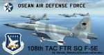 F-5E Tiger II Osean Air Defense Force Wardog Squadron Skin (ALL) From Ace Combat 5