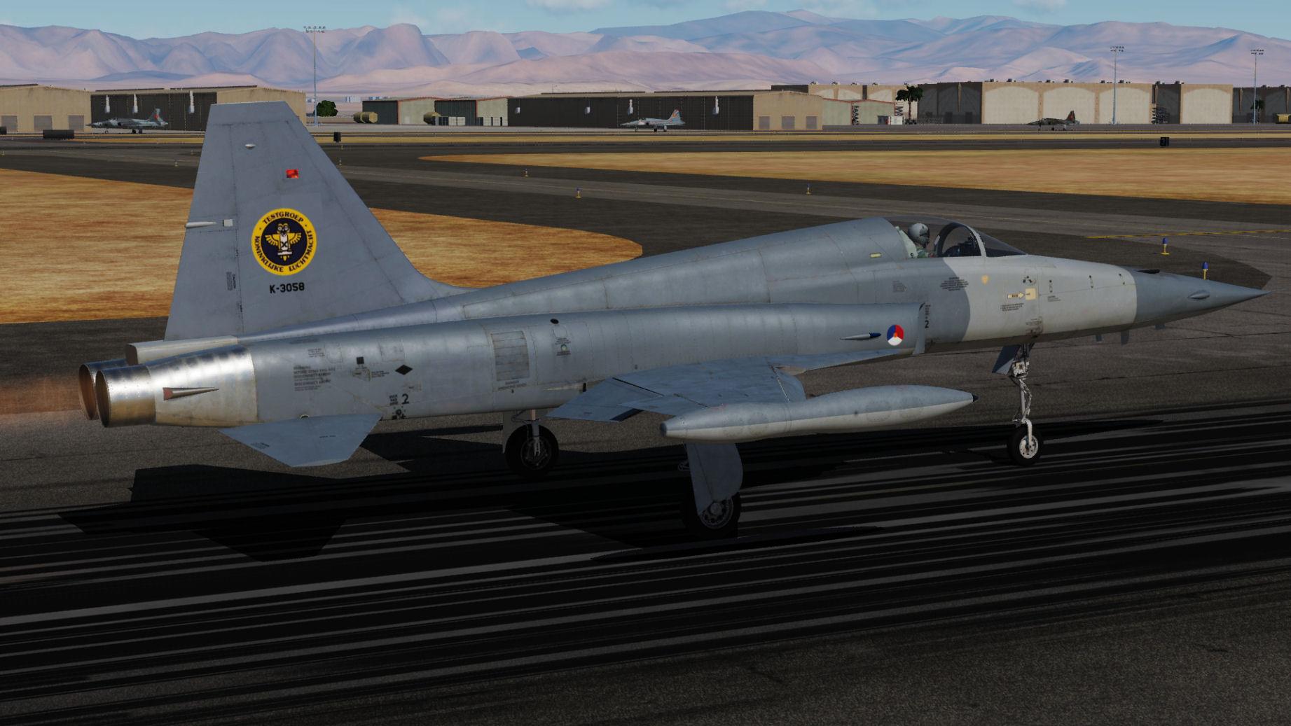 RNLAF NF5 TestGroep WingTipTanks Updated For DCS World