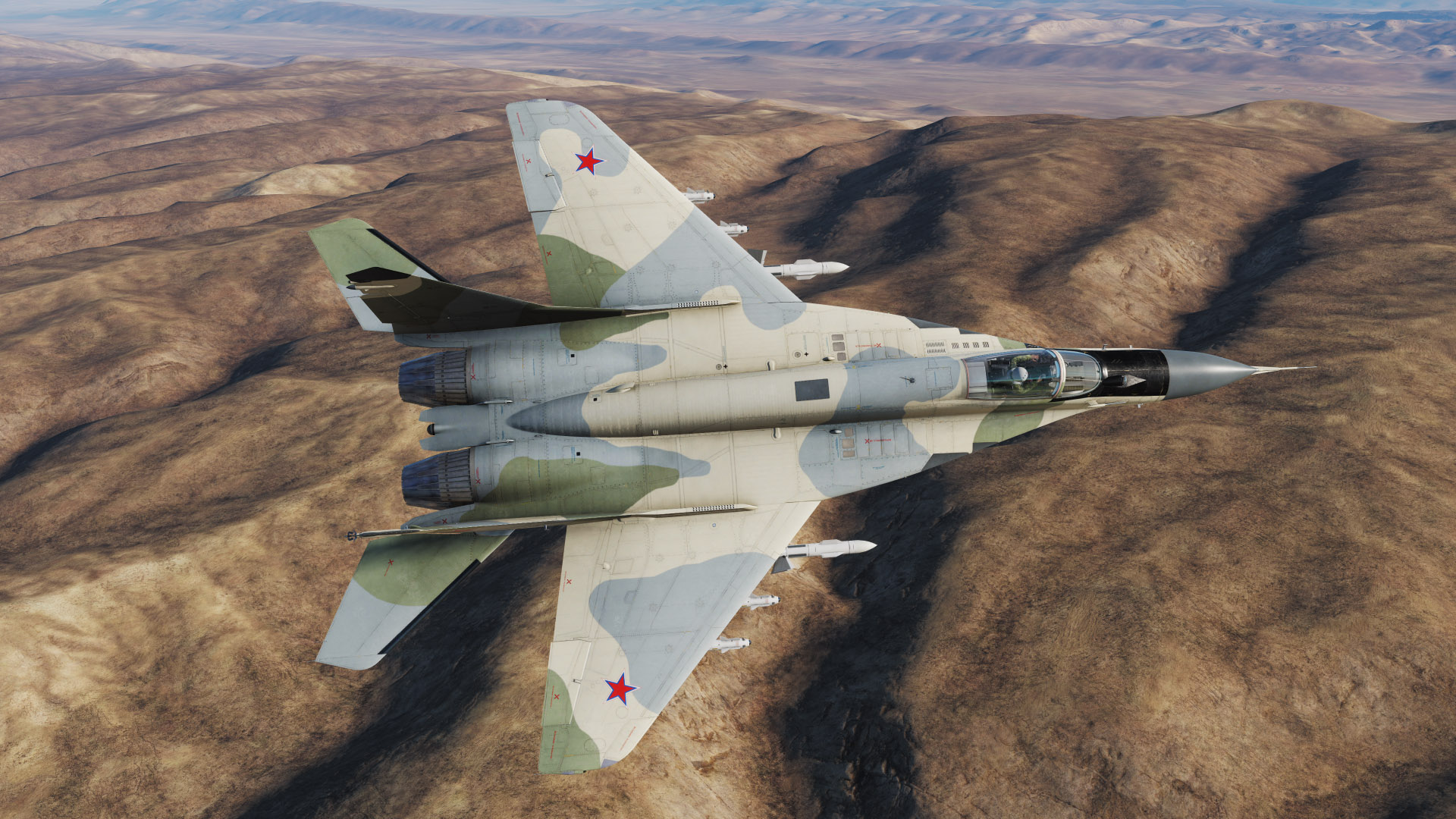 MiG-29S - Fictional Russian Air Force scheme