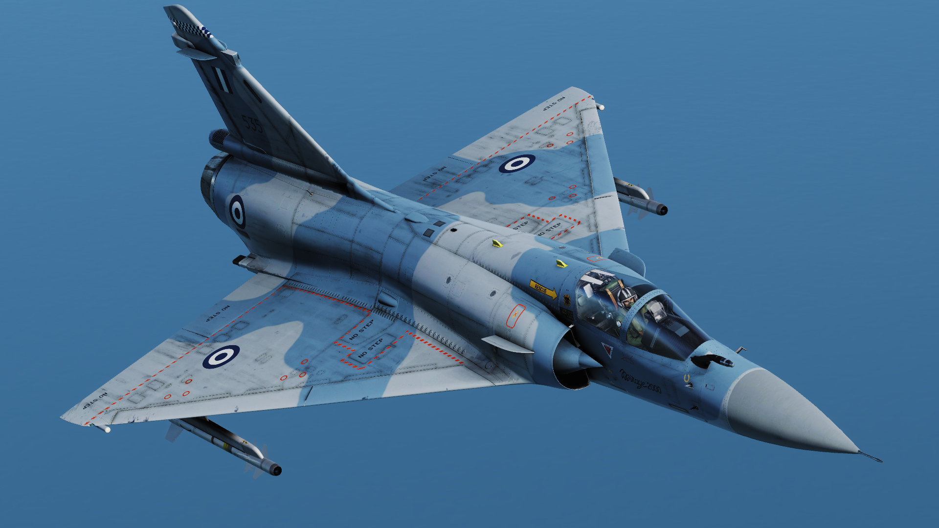 Hellenic Air Force Mirage 2000EG