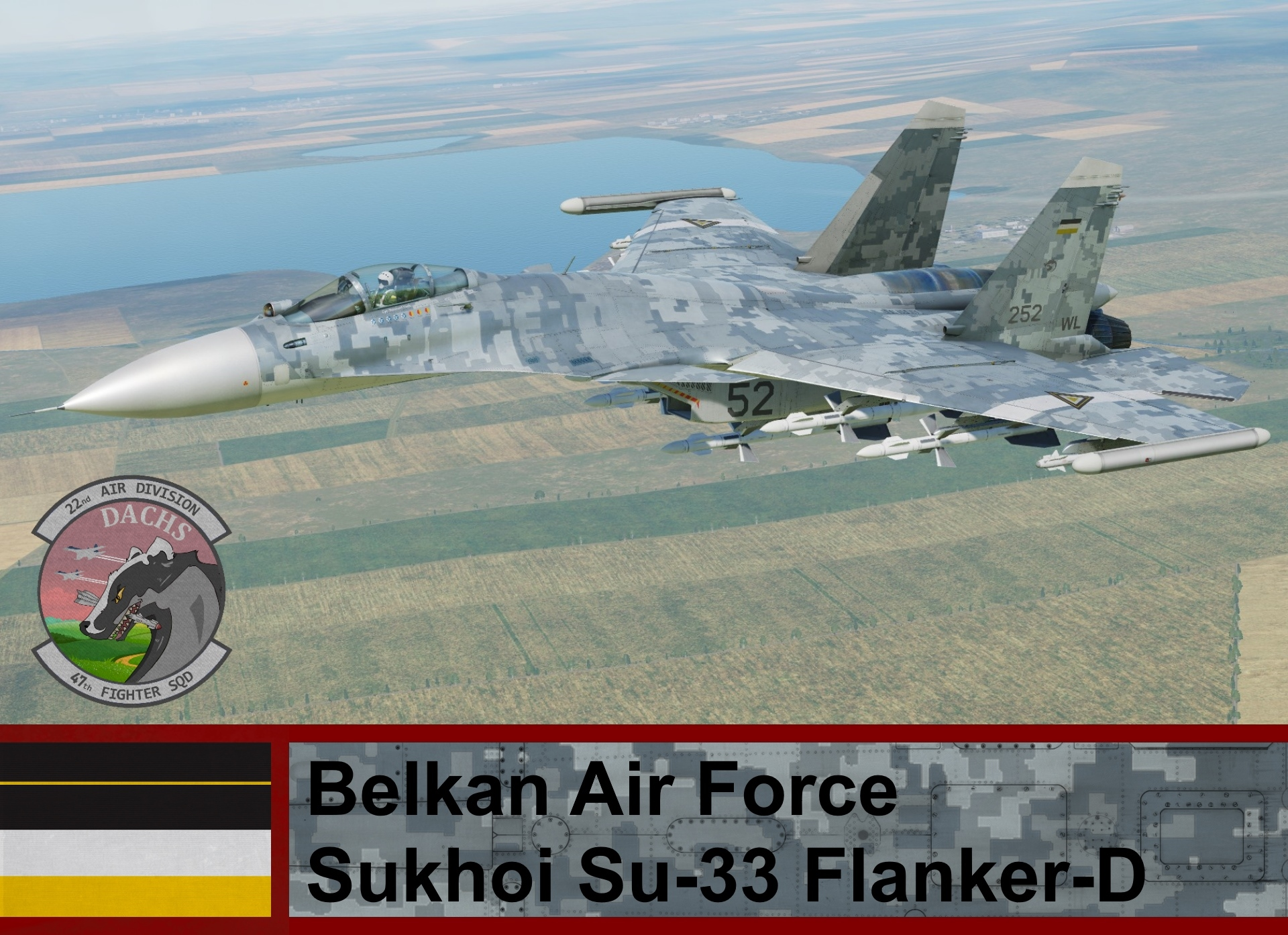 Belkan Air Force Su-33 Flanker-D - Ace Combat Zero (47th TFS)