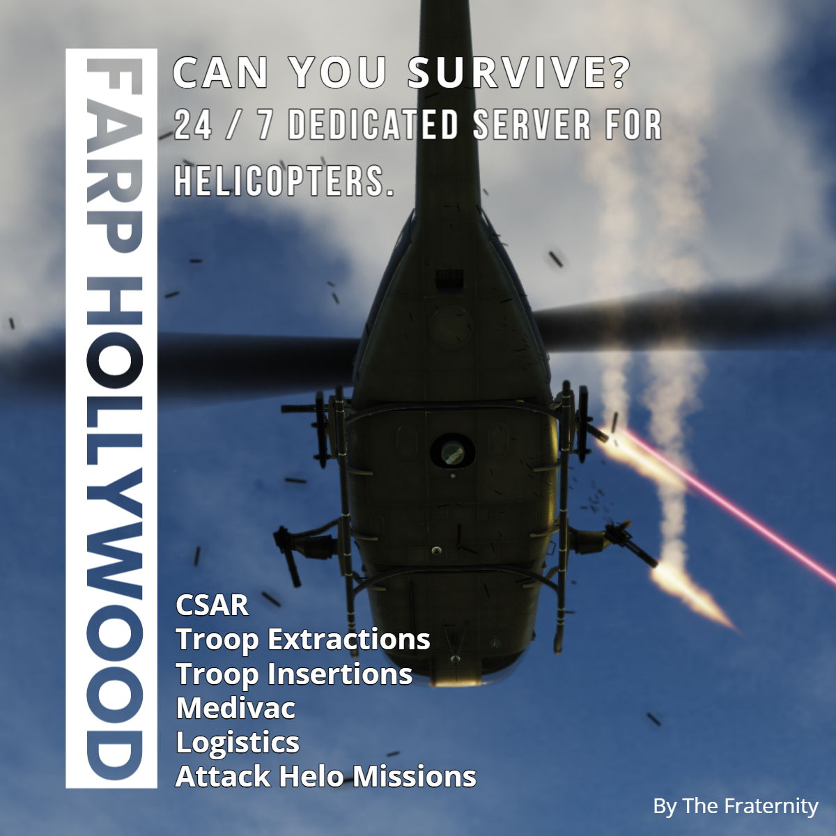 FARP Hollywood - Caucasus [Helicopter Sandbox] - All Helo Modules (Single or Multiplayer) by Element