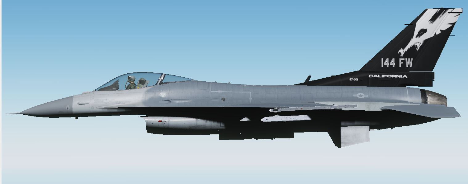 144th FW 87-0301 California ANG