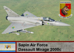 Sapin Air Force M-2000c- Ace Combat Zero (137 FS)