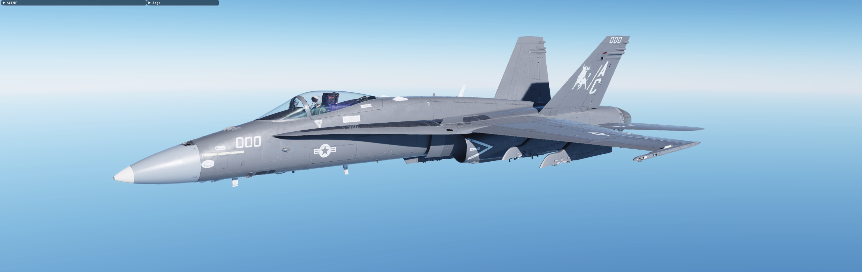 F/A-18C HAVEGLASS [Fictional]